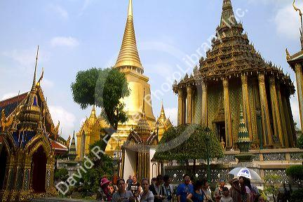 Phra Mondop, the library at the Temple of the Emerald ...