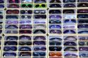 Sunglasses being sold at Venice Beach, Los Angeles, California, USA.